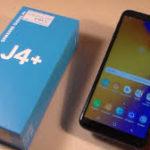 Samsung J4+, Új
